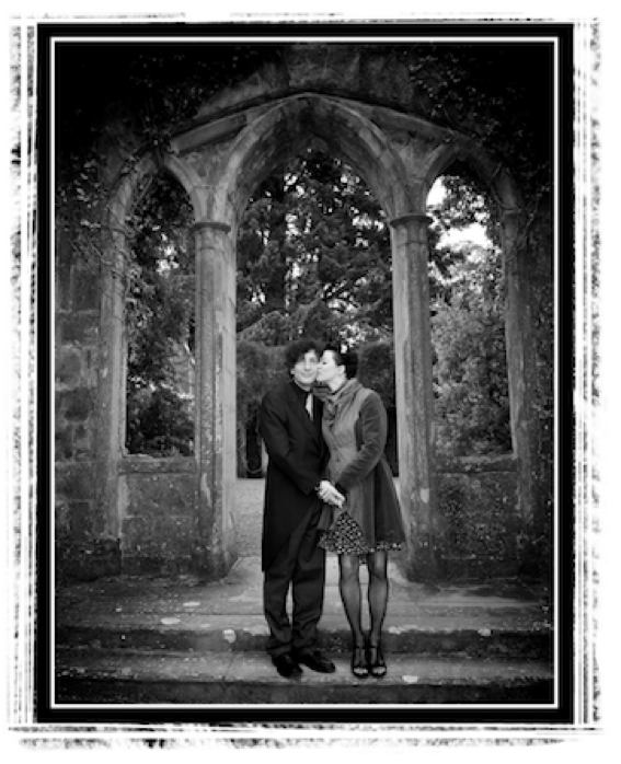 (click to enlarge. photo by elliott franks, neil's cousin, at our family wedding celebration in skye the summer after we got officially hitched.)
