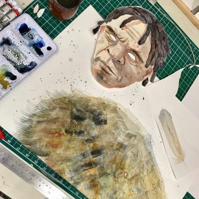 Art in progress